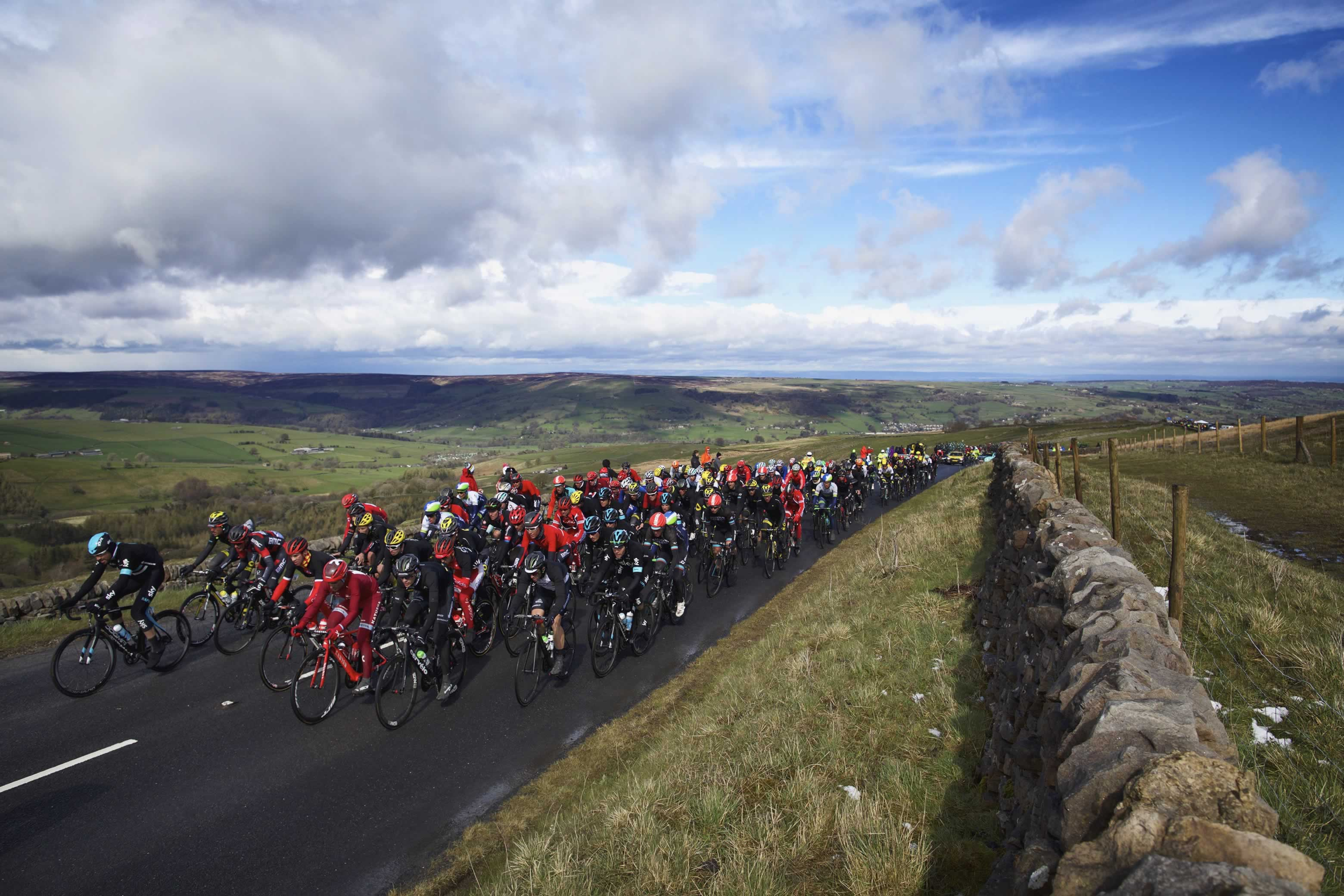 Richmond celebrates Yorkshire Tour route announcement