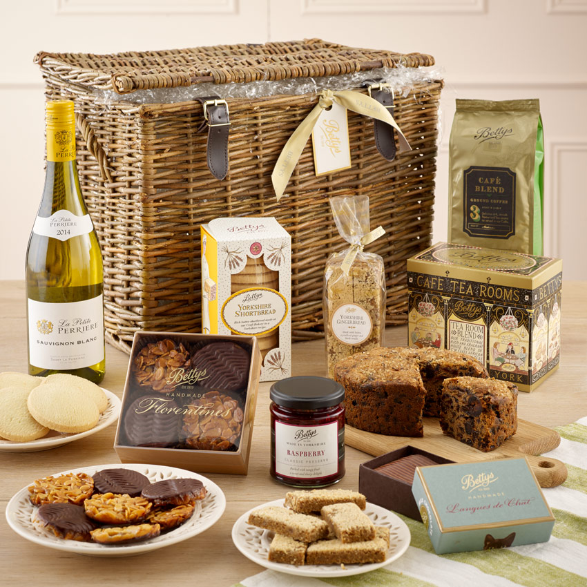 Enjoy a Bettys' luxury hamper on us!